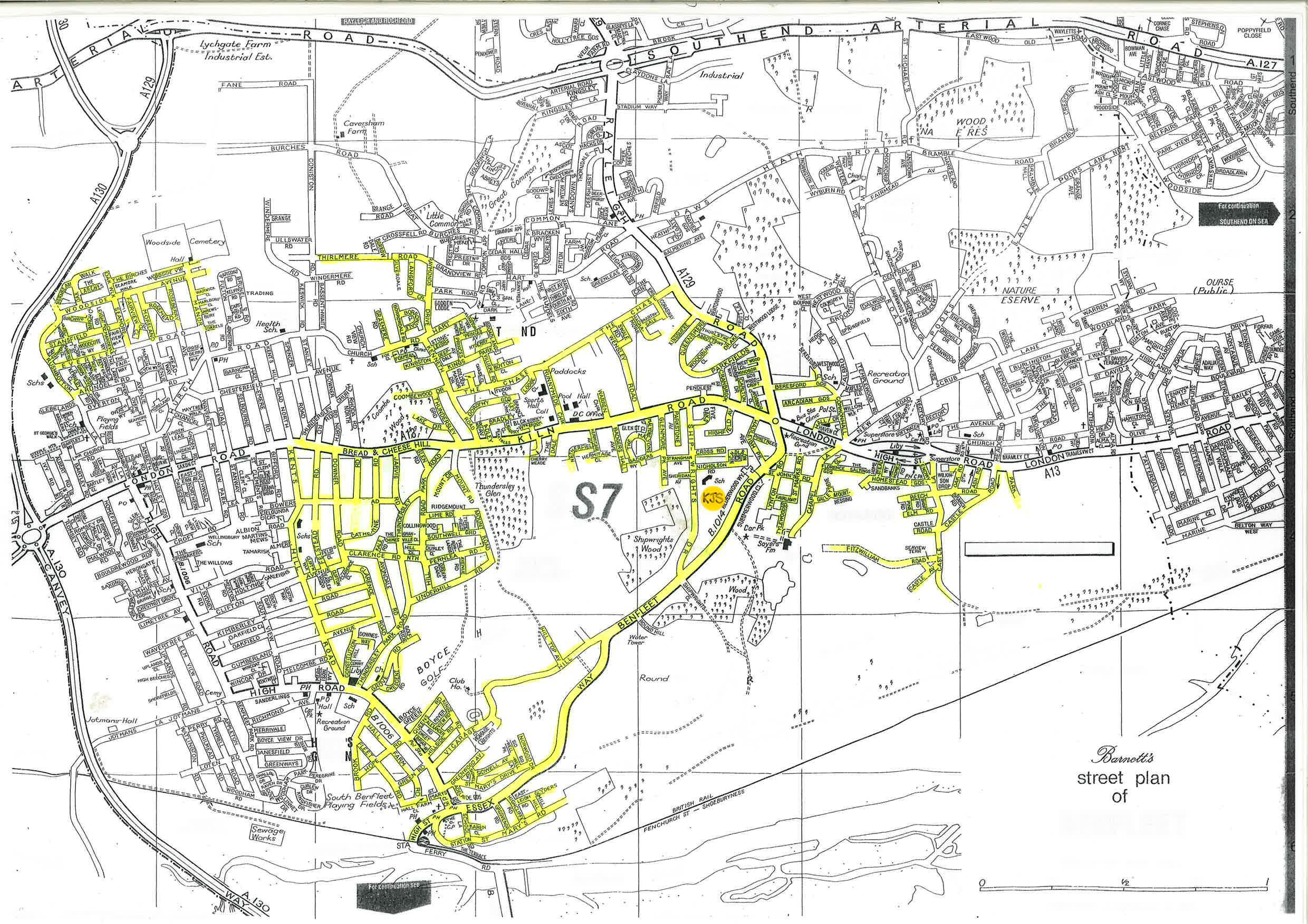 Catchment Area Map Catchment Area | King John School